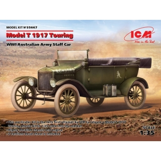 Model T 1917 Touring, WWI Australian Army Staff Car (1:35)