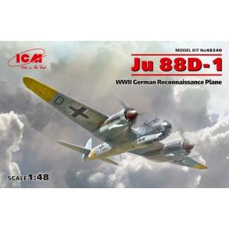 Ju 88D-1, WWII German Reconnaissance Plane (1:48)