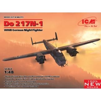 Do 217N-1, WWII German Night Fighter (1:48)