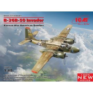B-26B-50 Invader, Korean War American Bomber (1:48)