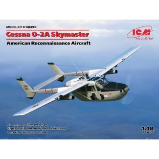 Cessna O-2A Skymaster, American Reconnaissance Aircraft  (1:48)