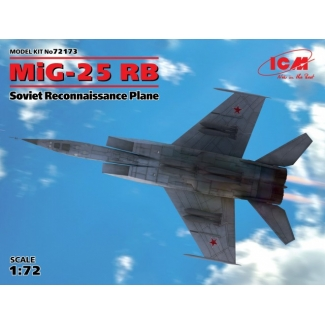 MiG-25 RB, Soviet Reconnaissance Plane (1:72)