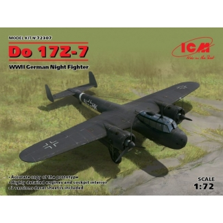 Do 17Z-7, WWII German Night Fighter (1:72)