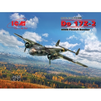 Do 17Z-2, WWII Finnish Bomber (1:72)