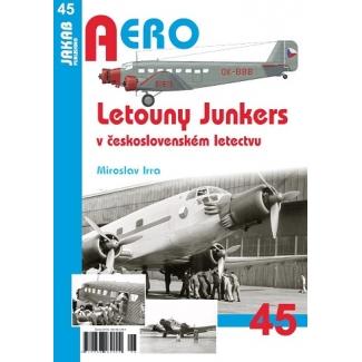 Jakab Aero Letouny Junkers v československém letectvu