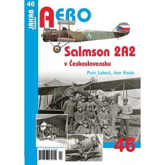 Jakab Aero Salmson 2A2 v Československu