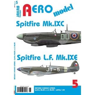 Jakab Aero Model Spitfire Mk.IXC a Spitfire L.F. Mk.IXE