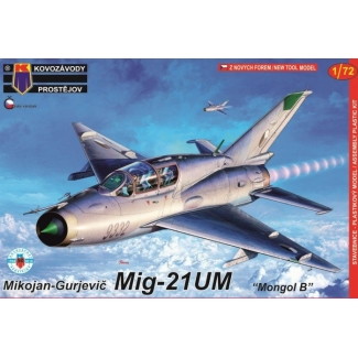 "Mikojan-Gurjevic Mig-21UM ""Mongol B"" (Warsaw Pact Service) (1:72)"