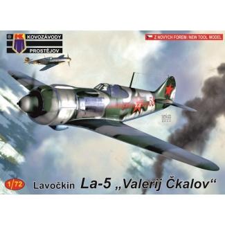 """Lavockin La-5 """"Valerij Čkalov"""" (1:72)"""