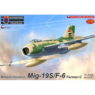 "Mikojan-Gurjevic Mig-19S/F-6 Farmer-C ""In Arab service"" (1:72)"