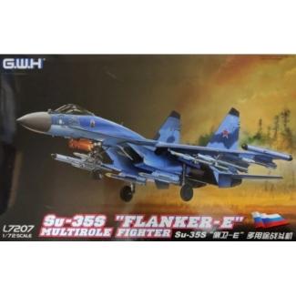 """Su-35S """"Flanker-E"""" Multirole Fighter (1:72)"""