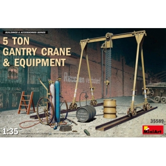 5 Ton Gantry Crane & Equipment (1:35)