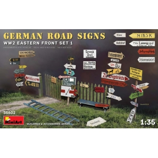 German Road Signs WW2 (Eastern Front Set 1) (1:35)