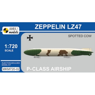 Zeppelin P-class LZ47 'Spotted Cow' (1:720)