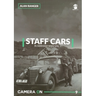 Staff Cars in German WW2 vol.1