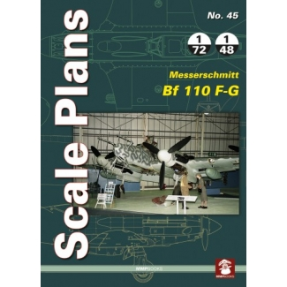 Scale Plans No.45 Messerschmitt Bf 110 F-G (1:72,1:48)