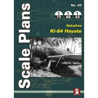 Scale Plans No.49 Nakajima Ki 84 Hayate (1:72,1:48,1:32)