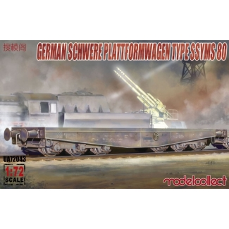 Germany Schwerer plattformwagen type ssyms 80 (1:72)