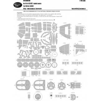 He 111H-6 BASIC kabuki masks (1:48)