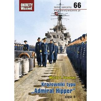 """Krążowniki typu """"Admiral Hipper"""", część II"""