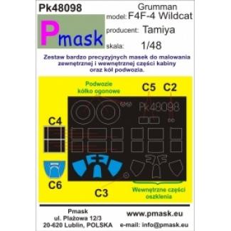 F4F-4 Wildcat: Maska (1:48)
