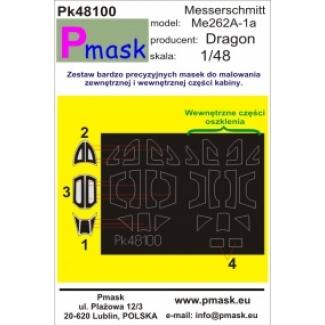 Messerschmitt Me262A-1a: Maska (1:48)