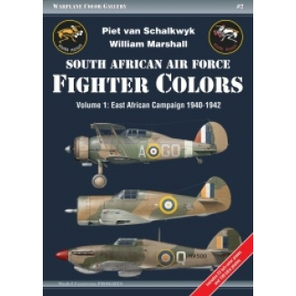 South African AF Fighter Colors vol.1 East African Campaign 1940-1942