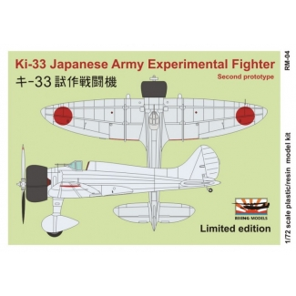 Ki-33 second prototype (1:72)