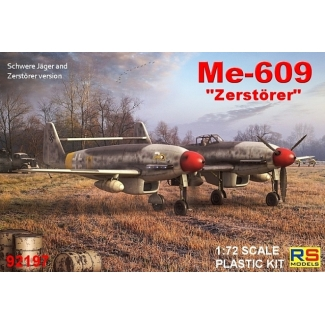 Me-609 Heavy fighter - bomber (1:72)
