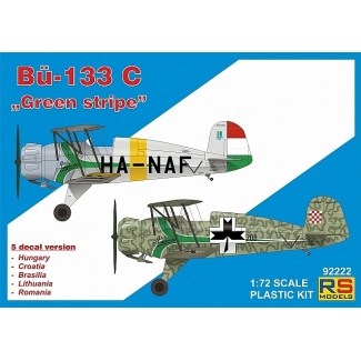 "Bücker 133 C ""Green stripe"" (1:72)"