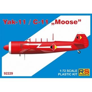 "Yak-11/C-11 ""Moose"" (1:72)"