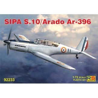 SIPA S.30/Arado Ar-396 (1:72)