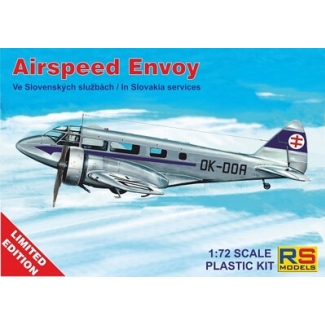 Airspeed Envoy - Limited edition (1:72)