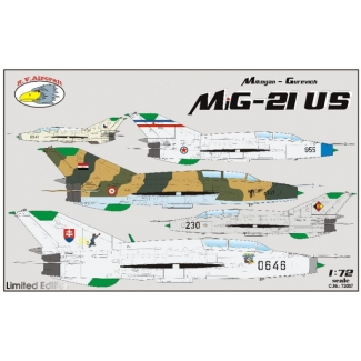 Mikoyan-Gurevich MiG-21 US (1:72)