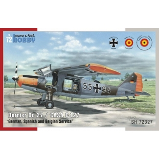 "Dornier Do-27 / CASA C-127 ""German, Spanish and Belgian Service""  (1:72)"