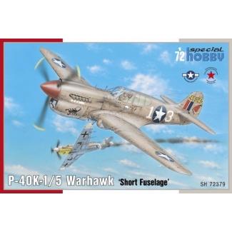 "P-40K-1/5 Warhawk 'Short Fuselage"" (1:72)"