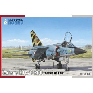 """Mirage F.1C/ C-200 """"Armée de `l Air"""" (1:72)"""