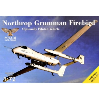 Northrop Grumman Firebird - Optionally Piloted vehicle with reconnaissance containers (1:72)