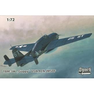 "TBM-3W ""Guppy"" USN,RCN, JMSDF (1:72)"