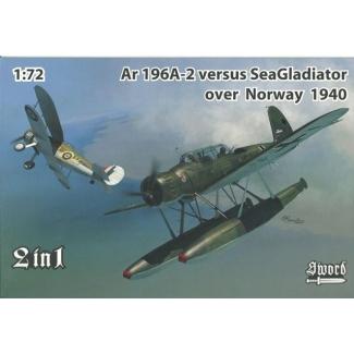 Arado Ar 196A-2 versus Sea Gladiator over Norway (2 in 1 series) (1:72)