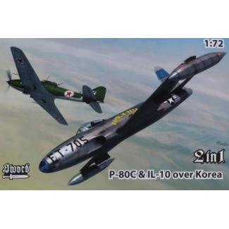 P-80C vs IL-10 over Korea 2 in 1 series (1:72)