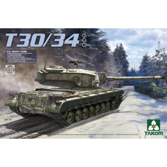 T30/34 U.S. Heavy Tank (2 in 1) (1:35)