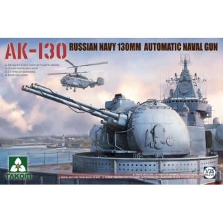 AK-130 Russian Navy 130mm Automatic Naval Gun (1:35)