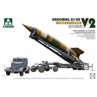Hanomag SS100 & Meillerwagen, Rocket V-2 (1:72)