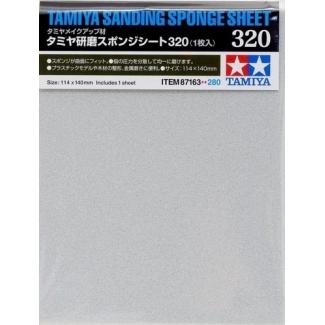 Polishing Sanding Sponge Sheet 320