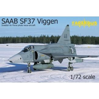 SAAB SF37 Viggen photo recce (1:72)
