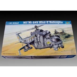 Mil Mi-24V Hind-E Helicopter (1:35)