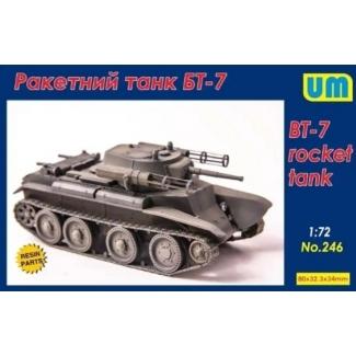 BT-7 rocket tank (1:72)