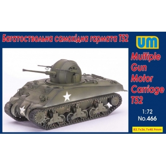 Multiple Gun Motor Carriage T52 (1:72)