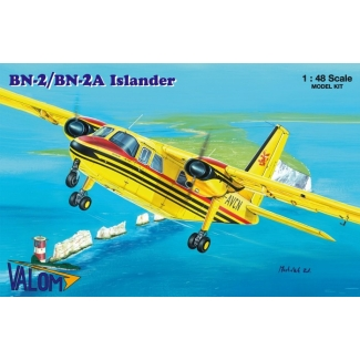 Britten-Norman BN-2/BN-2A Islander (marking G-AVCN a G-BCEN) (1:48)